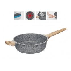 Глубокая сковорода (сотейник) с антипригарным покрытием, MINERALIKA, 24 см 728428