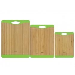 Набор разделочных досок из бамбука KRASAVA 722115