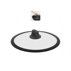 Стеклянная крышка с силиконовым ободом DARA 26 см 751612