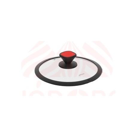 Стеклянная крышка с силиконовым ободом GUSTA 24 см 751713