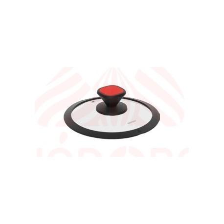Стеклянная крышка с силиконовым ободом GUSTA 20 см 751715