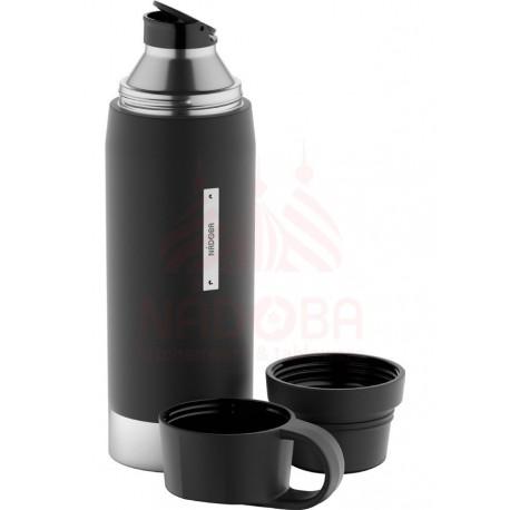 Термос с 2 чашками NADOBA, серия ALBA 735011 1 литр