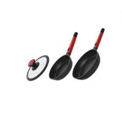 Сковорода с антипригарным покрытием и съемной ручкой GUSTA 26 см 729217
