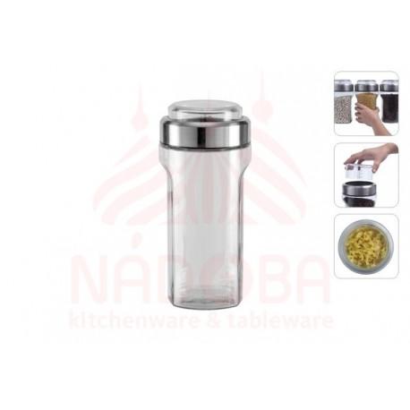 Ёмкость для сыпучих продуктов с мерным стаканом PETRA 1,55 литра 741011