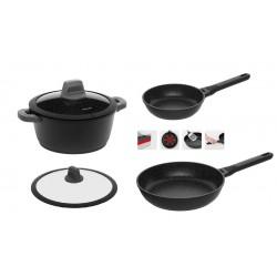 Комплект наплитной посуды Nadoba серии DARA из 5 предметов