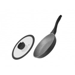 Сковорода с антипргарным покрытием GRANIA 24 см