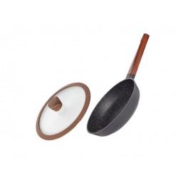 Сковорода Nadoba с крышкой серии OLDRA 24 см 728818