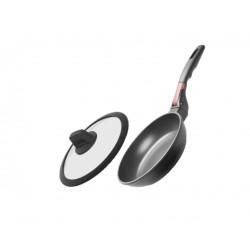 Сковорода Nadoba с крышкой и съемной ручкой VILMA 20 см 728219