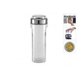Ёмкость для сыпучих продуктов с мерным стаканом PETRA