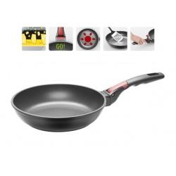 Сковорода с антипригарным покрытием и съемной ручкой VILMA 24 см