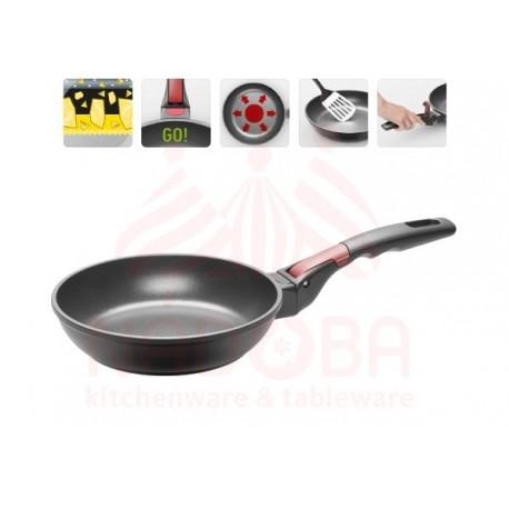 Сковорода с антипригарным покрытием и съемной ручкой VILMA 20 см