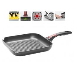 Сковорода-гриль с антипригарным покрытием и съемной ручкой VILMA 26*26 см 728220