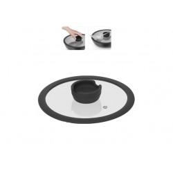 Стеклянная крышка с силиконовым ободом серии FINA, 20 см 751015