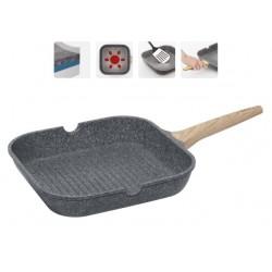 Сковорода-гриль с антипригарным покрытием MINERALIKA 28*28 см 728420