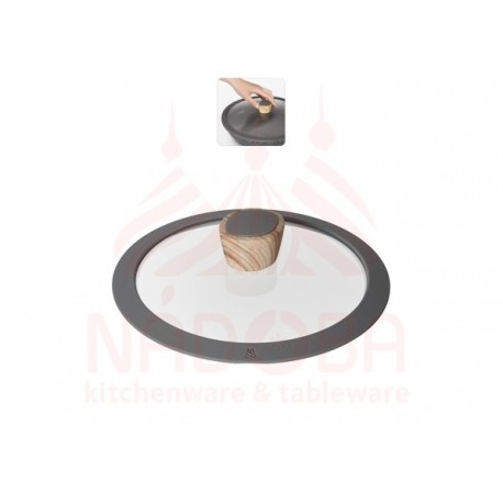 Стеклянная крышка с силиконовым ободом MINERALICA 20 см