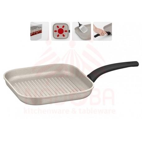 Сковорода-гриль с антипригарным покрытием MARMIA 26*26 см