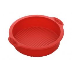 Форма для выпечки круглая силиконовая NADOBA серии MILA 762011