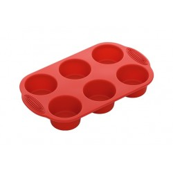 Форма для 6 круглых маффинов силиконовая NADOBA серии MILA 762016