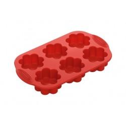 Форма для 6 маффинов в виде цветков силиконовая NADOBA серии MILA 762015