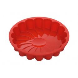 Форма для выпечки в виде цветка силиконовая NADOBA серии MILA 762023