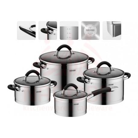 Набор посуды серии OLINA 8 предметов