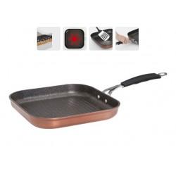 Сковорода-гриль с антипригарным покрытием MEDENA 26×26 см 728720