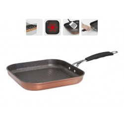Сковорода-гриль с антипригарным покрытием MEDENA 26×26 см