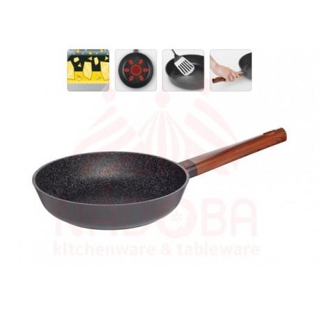 Сковорода с антипригарным покрытием OLDRA, 24 см