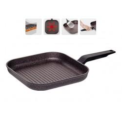 Сковорода Гриль с антипригарным покрытием Nadoba KOSTA 26х26 см 728920
